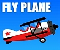 Fly Plane Icon