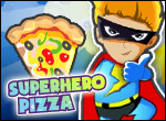 Superhero Pizza Icon